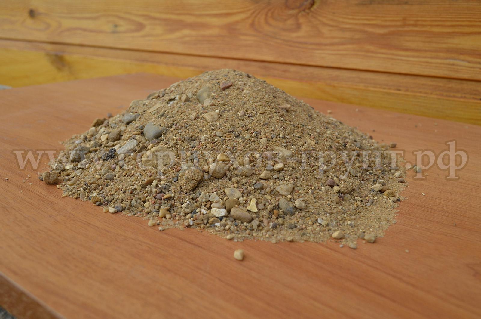 Доставка речной песок в Серпухове