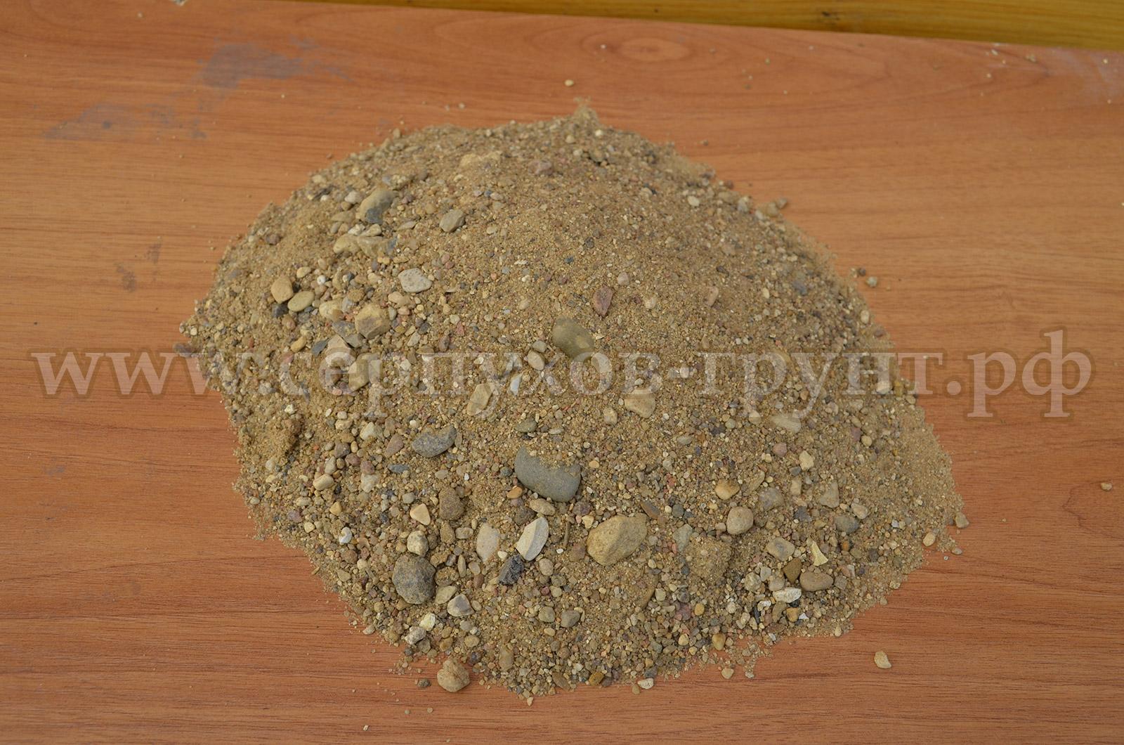 купить речной песок в Серпуховском районе