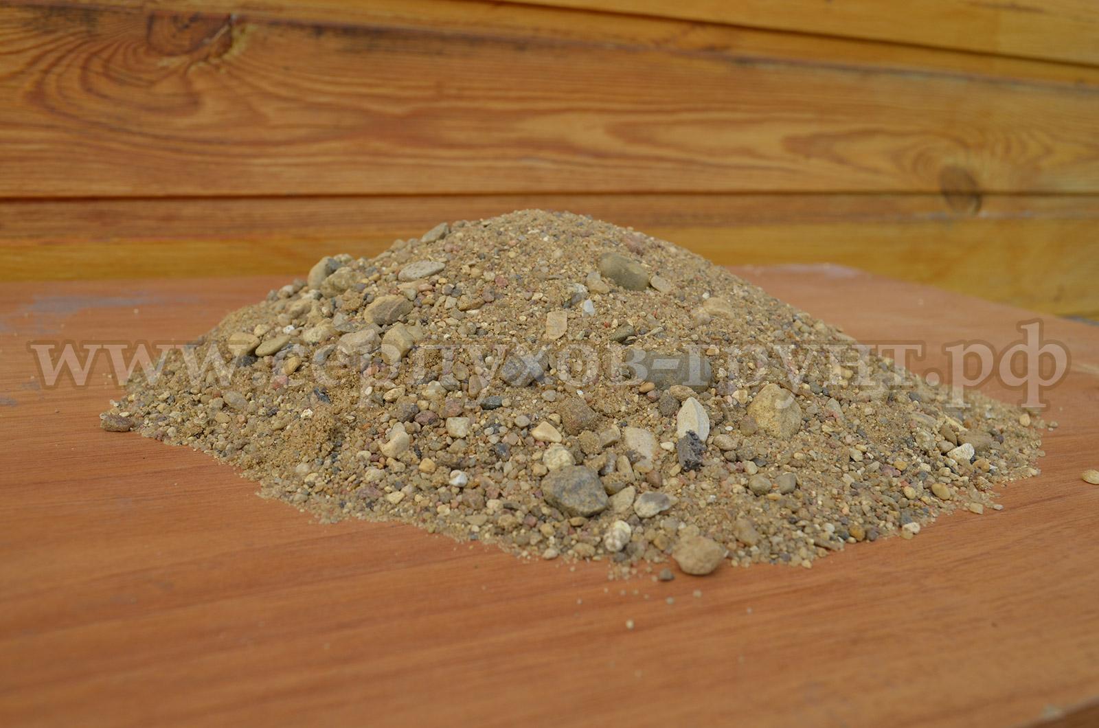 Речной песок в Серпухове